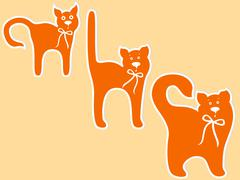 Stock Illustration of Cat maturing stages