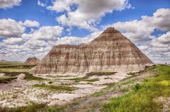 Stock Photo of One Mountain In The Badlands