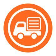 Lorry icon Stock Illustration