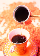 Coffee bulks to cup from Turk Stock Photos