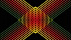 Abstract Motion Art Background VJ HD loop - stock footage