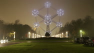 Stock Video Footage of Atomium, Brussels