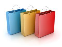 Shopping Bag - stock illustration