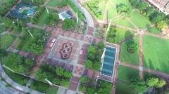 Downtown Atlanta Georgia aerial video Stock Footage