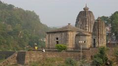 Panchbakhtar Temple,Mandi,Himachal Pradesh,India Stock Footage