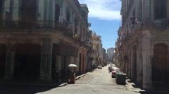 Havana Vieja, Cuba Stock Footage