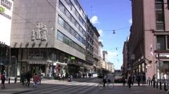 Helsinki, Finland Arkistovideo