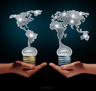 Global Creativity Stock Illustration