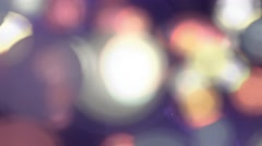 Bokeh Lens Blur Abstract Background 5 Stock Footage
