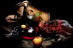 Still life In Rural Style - stock photo