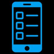 Mobile test icon from Business Bicolor Set Stock Illustration