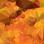 Stock Illustration of Harvest Gold Abstract Low Polygon Background
