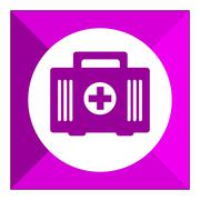 First aid kit icons Stock Illustration