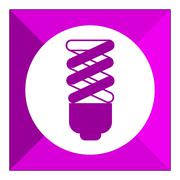 Fluorescent lamp - stock illustration