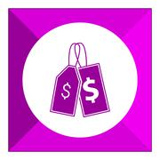 Price tags icons - stock illustration