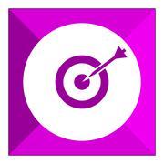 Target hitting - stock illustration