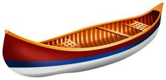 Canoe Stock Illustration