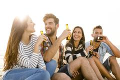 Stock Photo of Summer is better with a cold beer