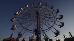 Ferris wheel 3 2015 Stock Footage