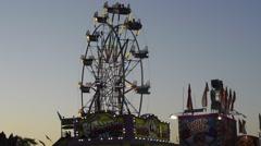 Ferris wheel 62015 Stock Footage