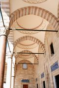 Colonnade In Mosque - stock photo