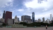 Stock Video Footage of Skyline of Downtown Chicago, Illinois