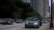 Stock Video Footage of Traffic in Downtown Chicago, Illinois