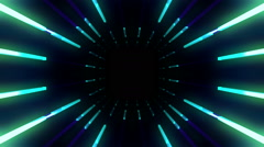 VJ Loops Light Rays 05 - stock footage