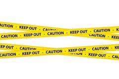Caution Tapes Stock Illustration