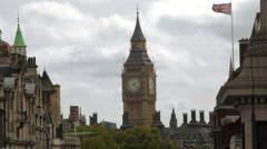 London's Big Ben Stock Footage