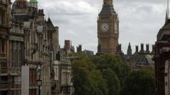 Big Ben in London, England Stock Footage