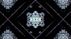Fractal Organic Square Stock Footage