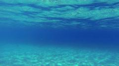 Blue Underwater Texture Loop Stock Footage