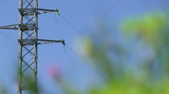 Power Line - stock footage