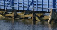 4k, Bridge on Sheepshead Bay, Brooklyn, NY Stock Footage