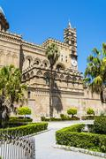 Cathedral of Palermo in Sicily, Italy - stock photo