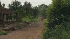 Ghana african house termite nest 4K Stock Footage