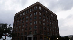 Former Texas School Book Depository, site of President Kennedy's assassination. Stock Footage