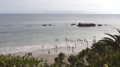Ocean View of Laguna Beach, California, The United States of America Stock Footage