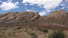 San Rafael Swell Utah traffic scenic desert landscape 4K Stock Footage