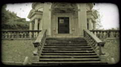 Italian Building 9. Vintage stylized video clip. Stock Footage