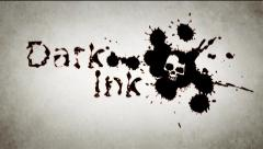 Stock After Effects of Dark Ink - Ink Blots Logo Reveal