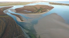 Coorong River Murray Scenes Stock Footage