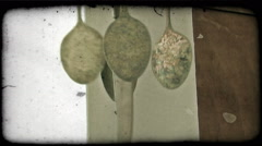 Italian Wind Chime 2. Vintage stylized video clip. Stock Footage