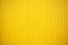 Yellow metallic background - stock photo