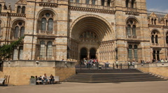 Natural History museum, London Stock Footage