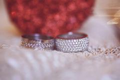 Bridal rings - stock photo