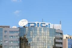 Digi TV Romanian DTH Platform - stock photo