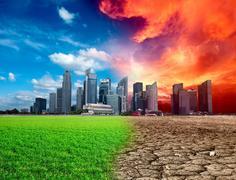 Global warming Stock Photos