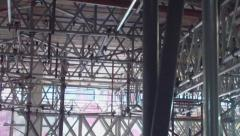 Stock Video Footage of Scaffolding Framework